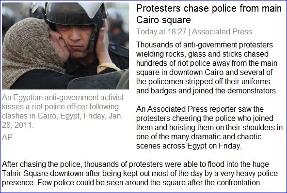 Egyptian army moves into Cairo as protests persist