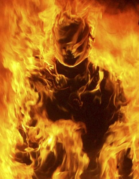Self-Immolation Monk