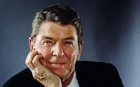 Portrait Of Ronald Reagan