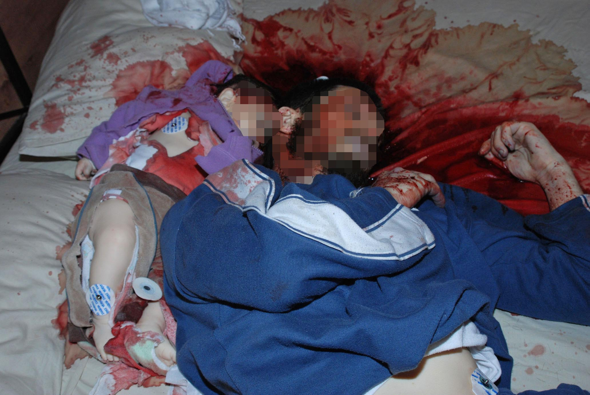 PICTURES OF BRUTAL MURDERS OF AN ISRAELI FAMILY BY PALESTINIAN ...