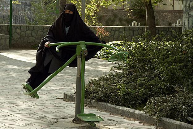 burqa playground