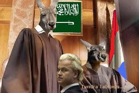 kanagroo DUTCH court Geert Wilders