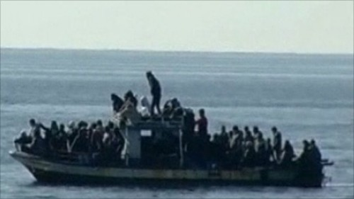 tunisian boat illegal migrants