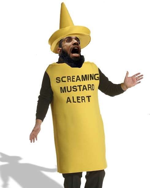 SCREAMING MUSTARD ALERT