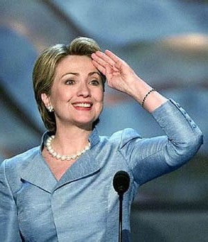 HILLARY RODHAM CLINTON ATTENDS THE DEMOCRATIC NATIONAL CONVENTION