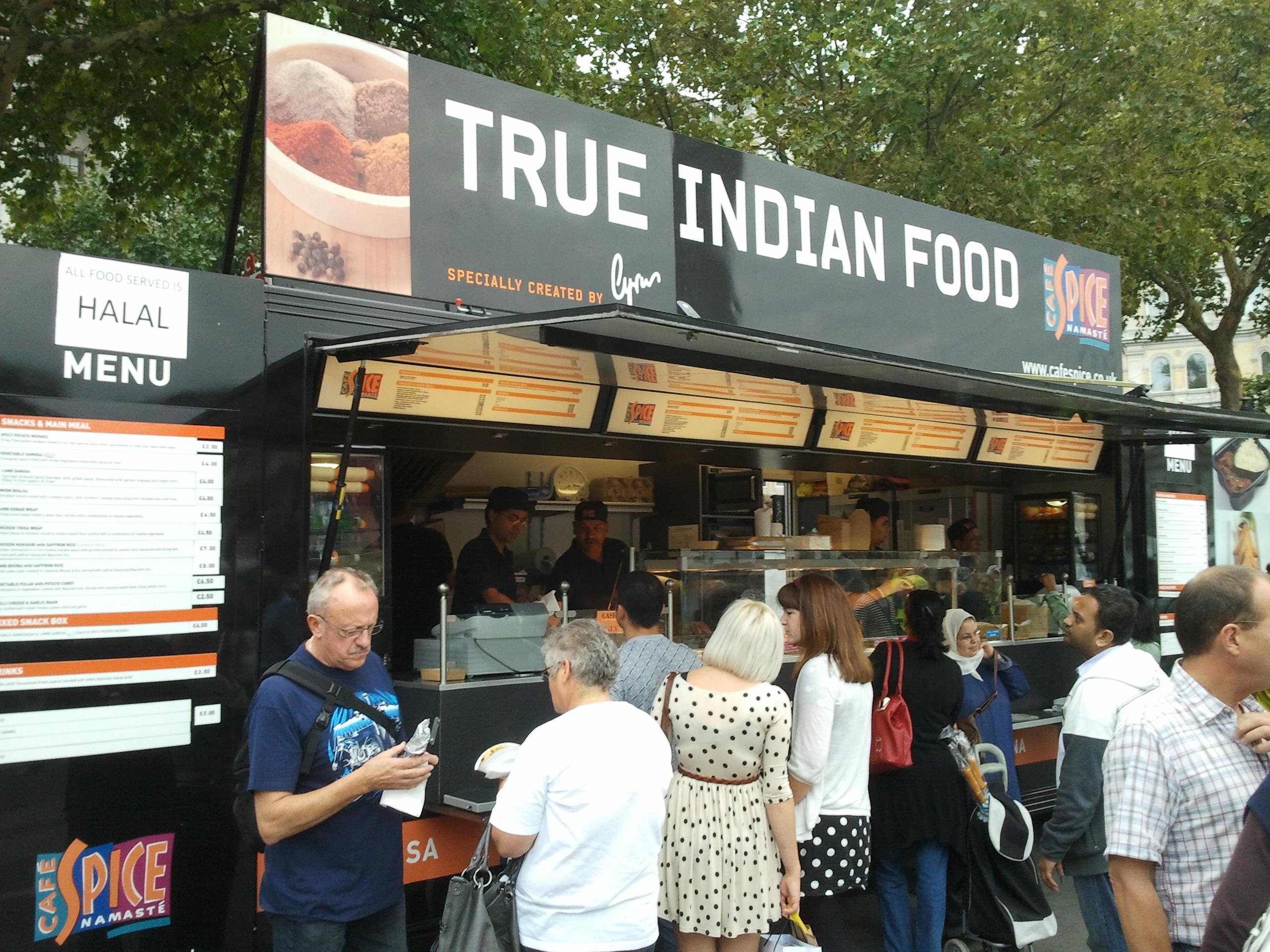 Eid festival in trafalgar square the tundra tabloids - Food booth ideas ...