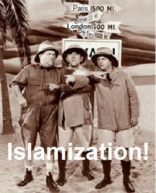 Islamization finger point