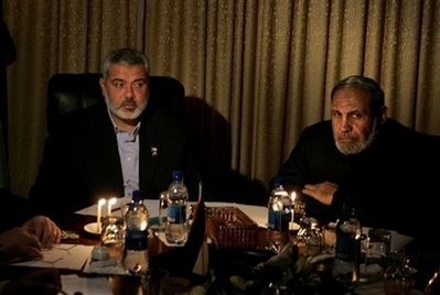 Ismail Haniyeh, Mahmoud Zahar,