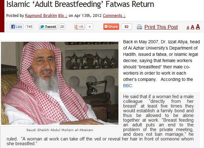 ISLAM AND ADULT BREASTFEEDING [Free Online Dating Site Basics Requirement ]
