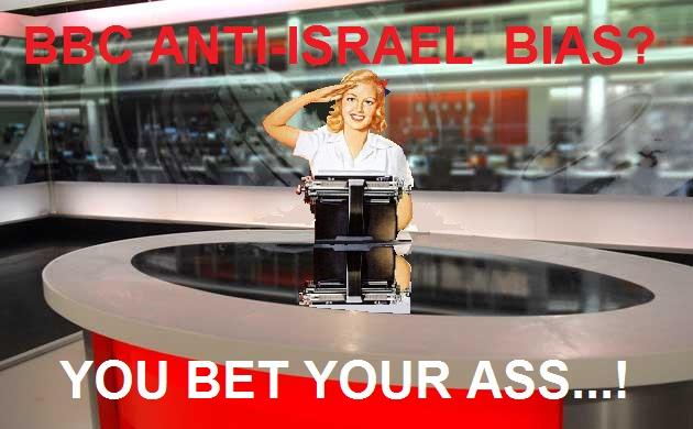 bbc anti-israel bias