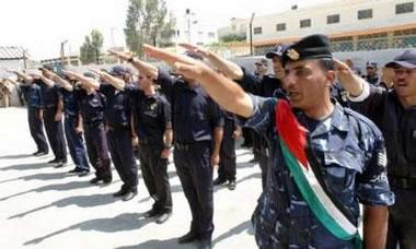 Palestinian hand salute