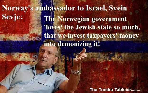 Norway really loves the Jewish state