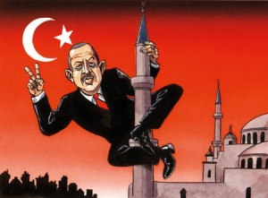 erdogan mosqueing it