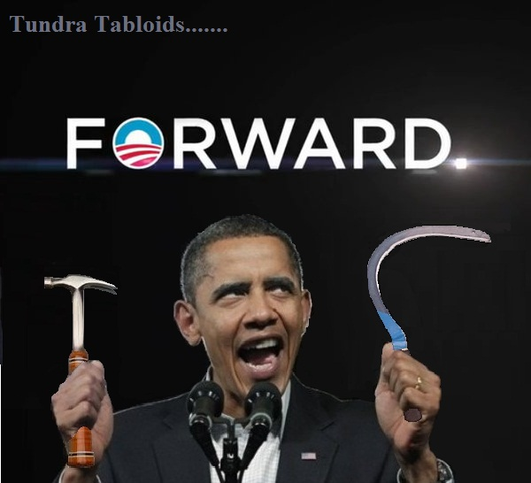 obama crazy faced forward