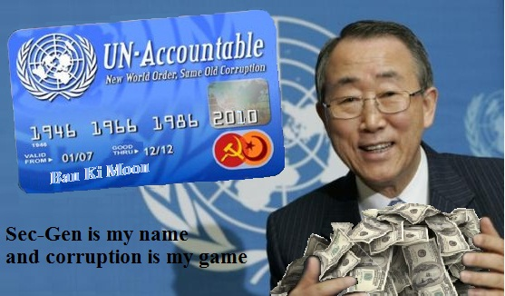 ban ki moon corruption
