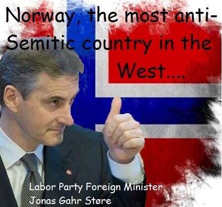 norway-the-most-anti-Semitic-country-in-the-west