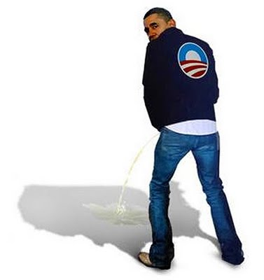 Obama+-+Peeing+On+America