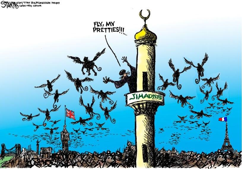 uk and france jihadists