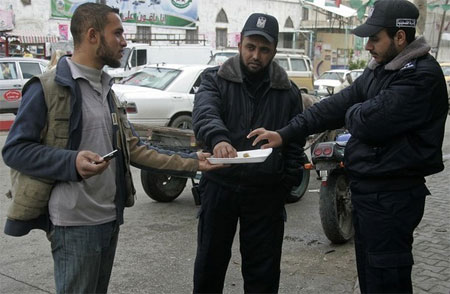 hamas hands out sweets after murder of fogel family