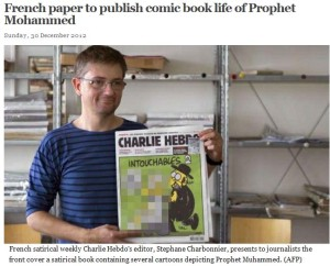 HEBDO MOHAMED COMIC BOOK 31.12.2012