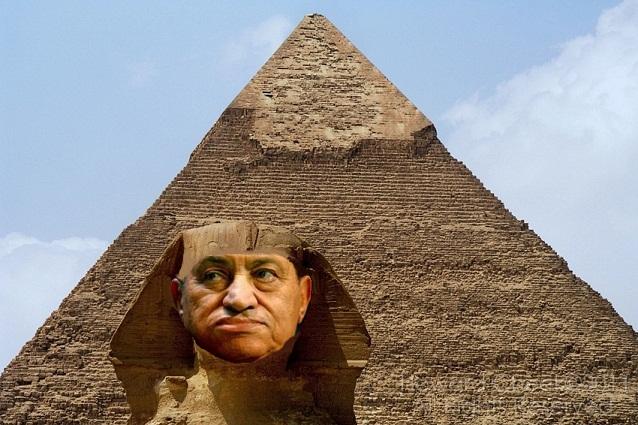 Sphinx-Mubarak