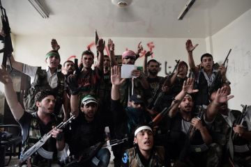 syrian rebels aleppo