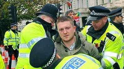 tommy robinson nicked