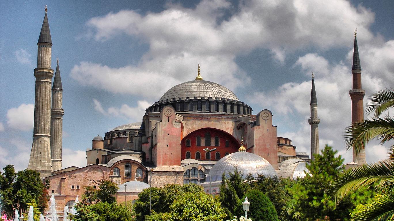 Hagia-Sophia church now mosque museum