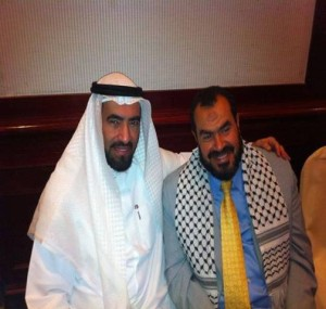 Murdoch's Man, Director-General of Al-Risala Tareq al-Suwaidan with Fellow Jew-Hating Jihadist and Broadcasting Companion at Al-Risala, Salah Sultan