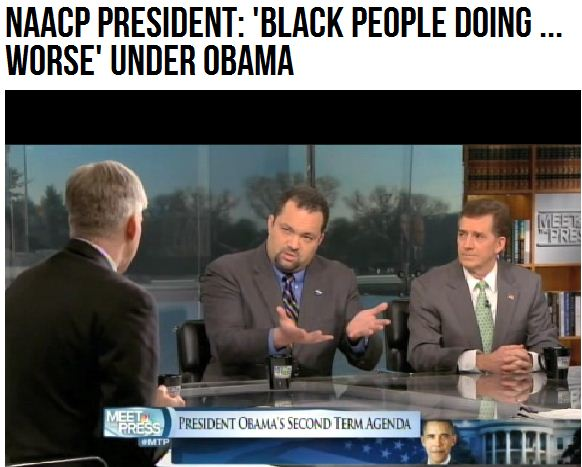 NAACP BLACKS WORSE OFF UNDER OBAMA 28.1.2013