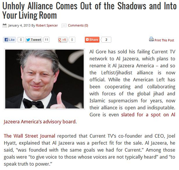 al-gore sells to al-jazeera 4.1.2013