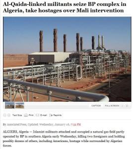 al-qaida linked terrorists take western hostages in algeria 16.1.2013