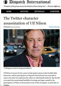 dispatch international twitter character assassination 16.1.2013
