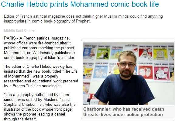 hebdo prints the mo-comic book 3.1.2013