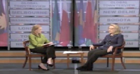 hillary says hamas isn't political 1.29.2013