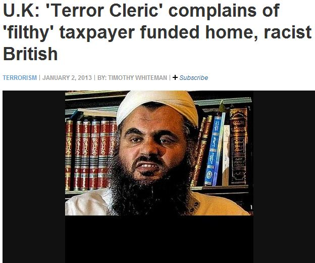 islam terror tard complains about expensive flat as filthy 7.1.2013