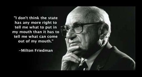 milton friedman liberty freedom