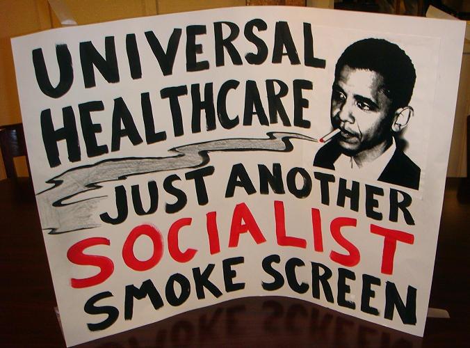 obamacare socialist smokescreen