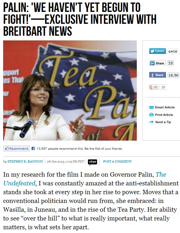 palin-we haven't yet begun to fight 27.1.2013