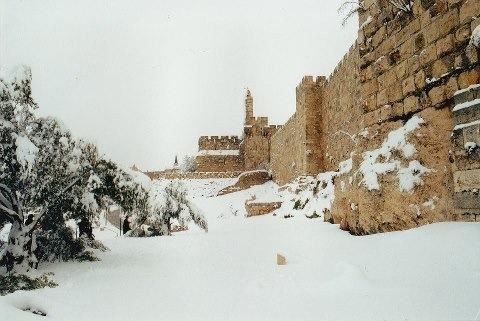 snow in j'lem 10.1.2013