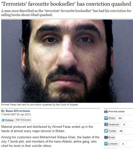 terrorists favorite bookseller conviction overturned 5.1.2013