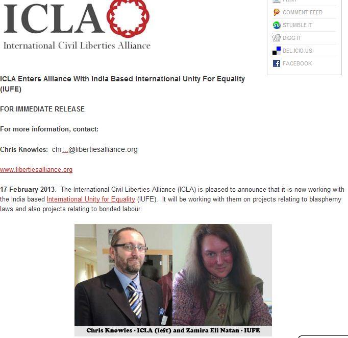 ICLA IUFE ALLIANCE 17.2.2013