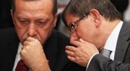 davutoglu and erdogan