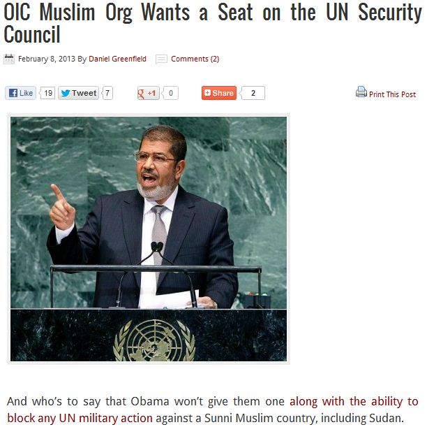oic want a seat on the un security council 8.2.2013