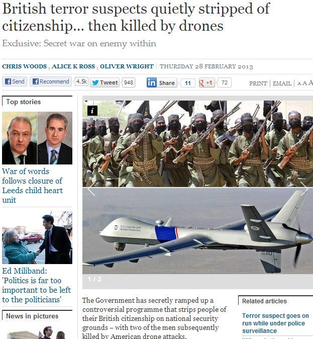 brits stripped of citizenship then droned 30.3.2013