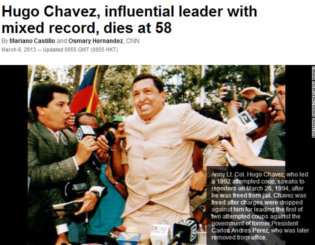 chavez is dead 6.3.2013