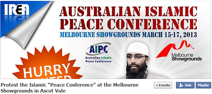 islamo-peace-conference australia march 15 2013
