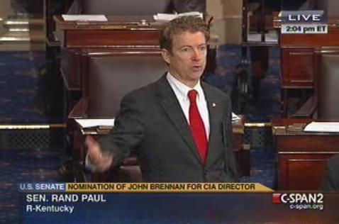 rand paul filibusters 6.3.2013