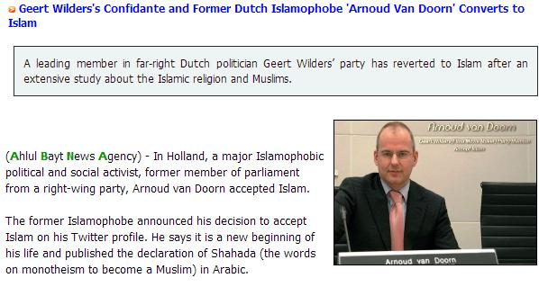 turncoat PVV dorn 11.3.2013