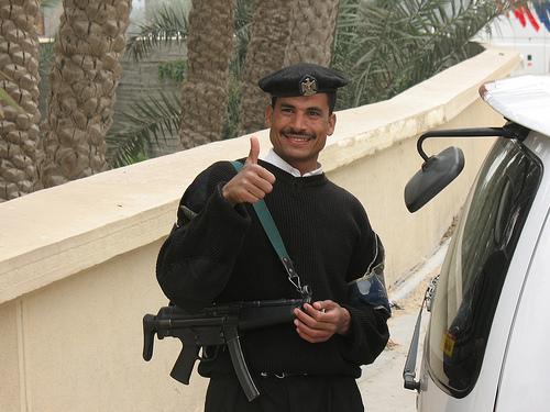 Egyptian Police Officer